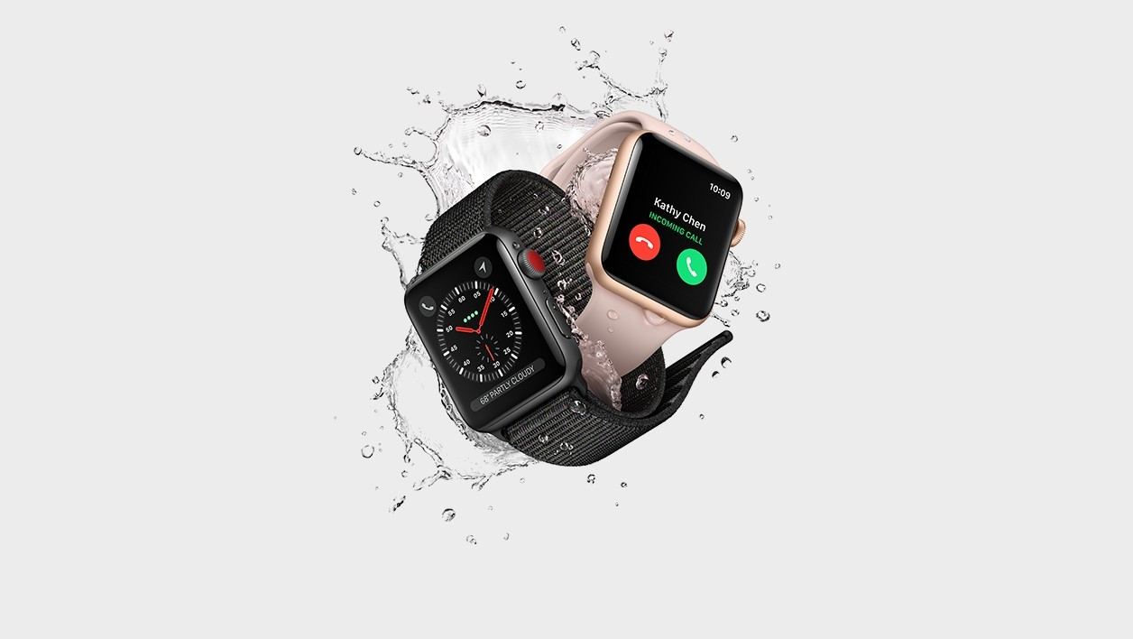 L'Apple Watch Series 3.