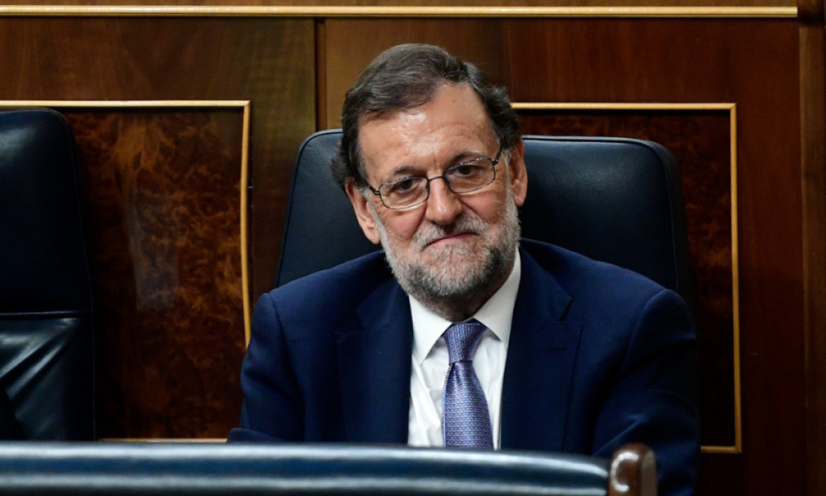 Mariano Rajoy, le 31 août 2016. - Pierre-Philippe Marcou - AFP