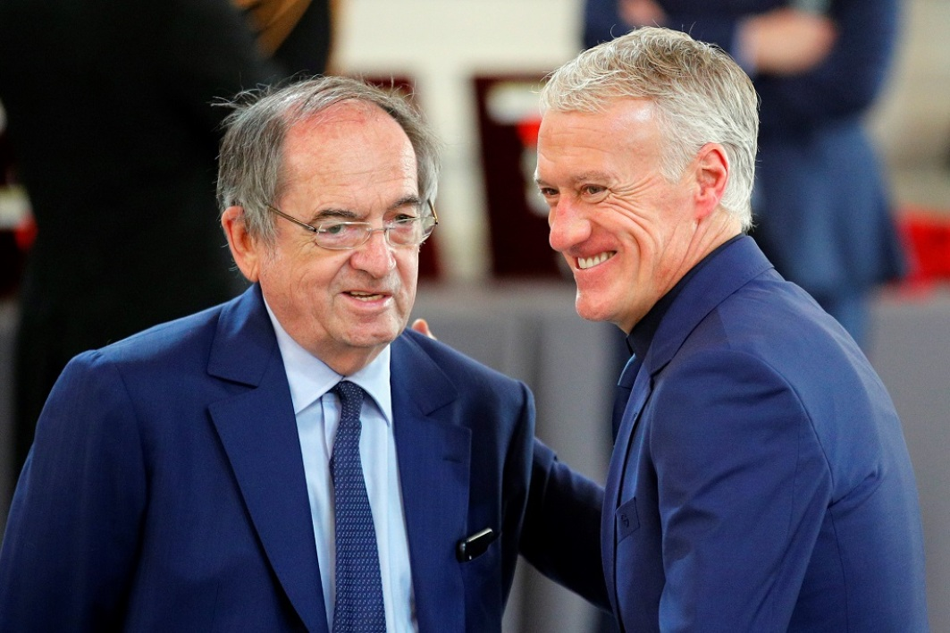 Le Graët et Deschamps