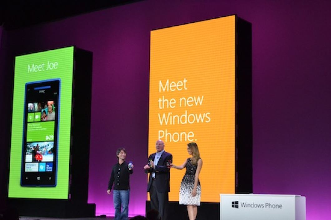 Lancement de Windows Phone 8, à San Francisco