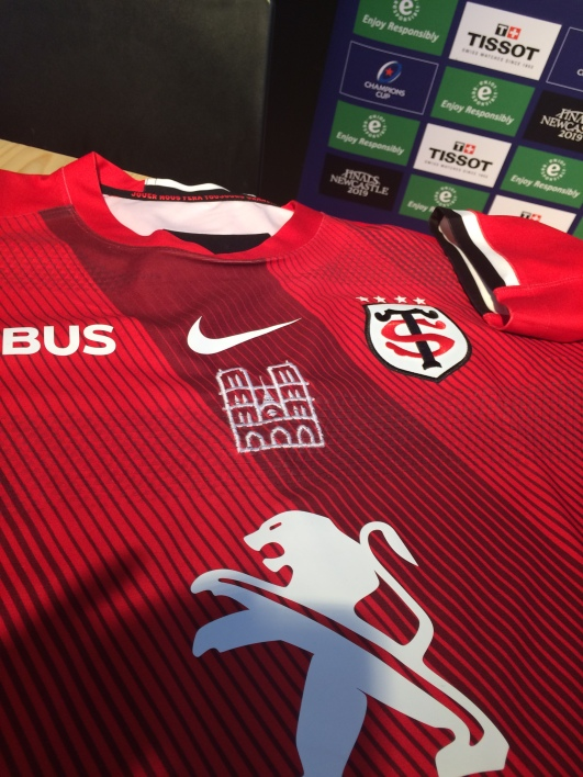 Stade Toulousain maillot hommage