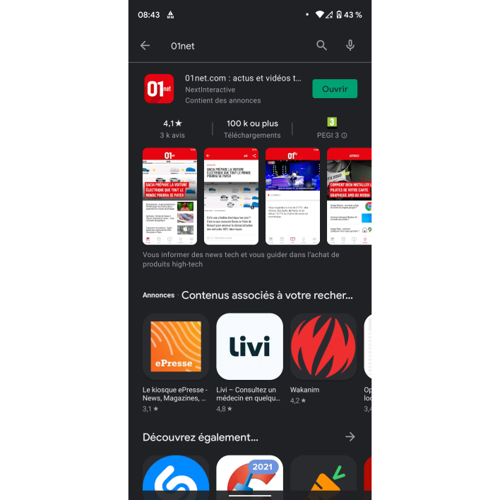 1c0458fc9f464aed1896abb03eeb0 - Google rolls out a new interface for the Play Store