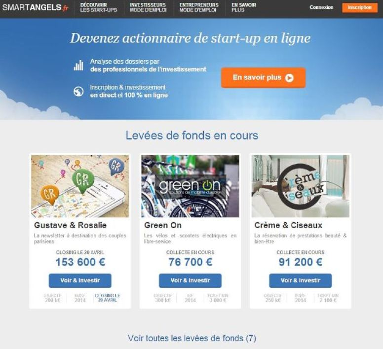 Le site web SmartAngels