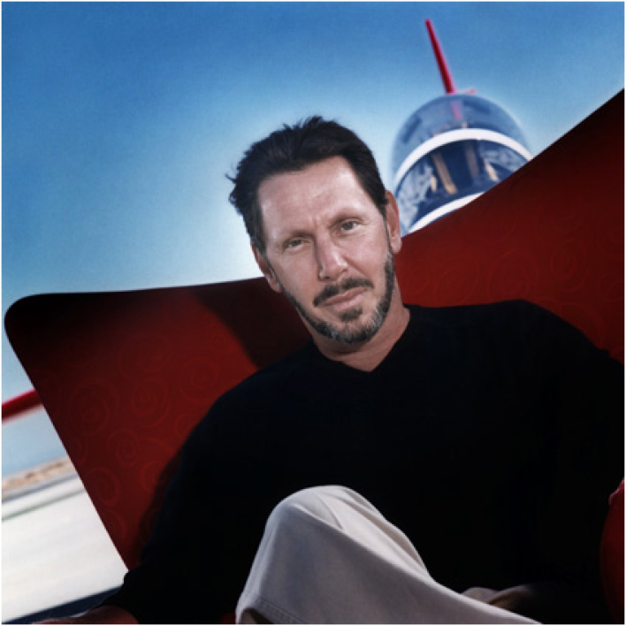 Larry Ellison, le patron d'Oracle.