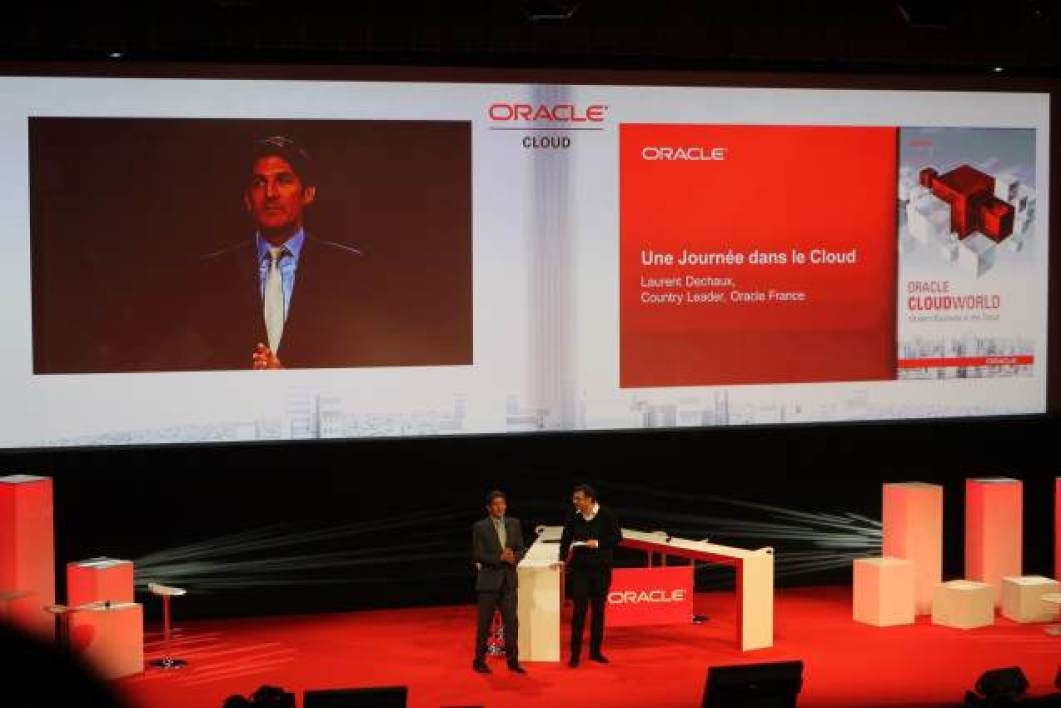 Laurent Dechaux, Country leader pour Oracle France