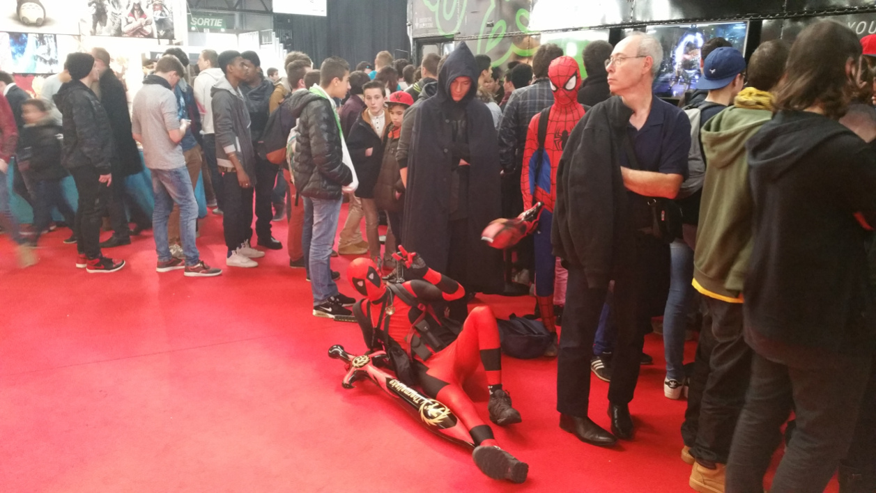 Deadpool prend la pose