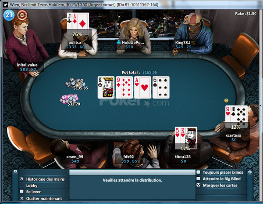 winamax poker 01net
