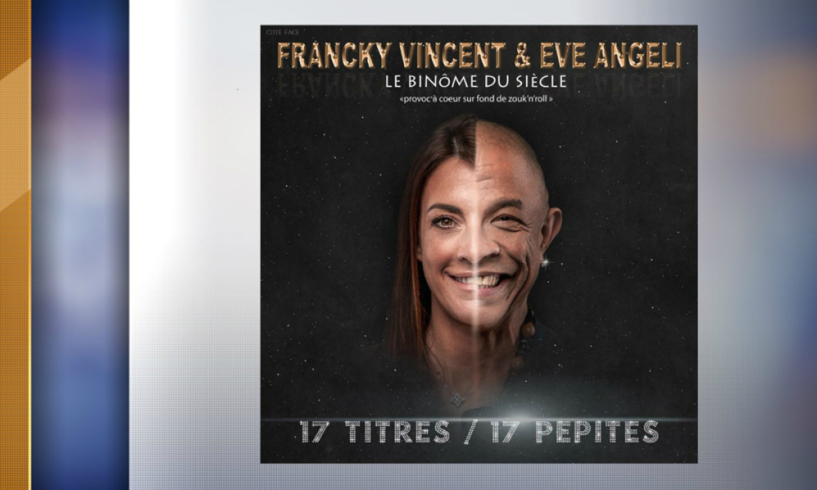 Album d'Eve Angeli et Francky Vincent