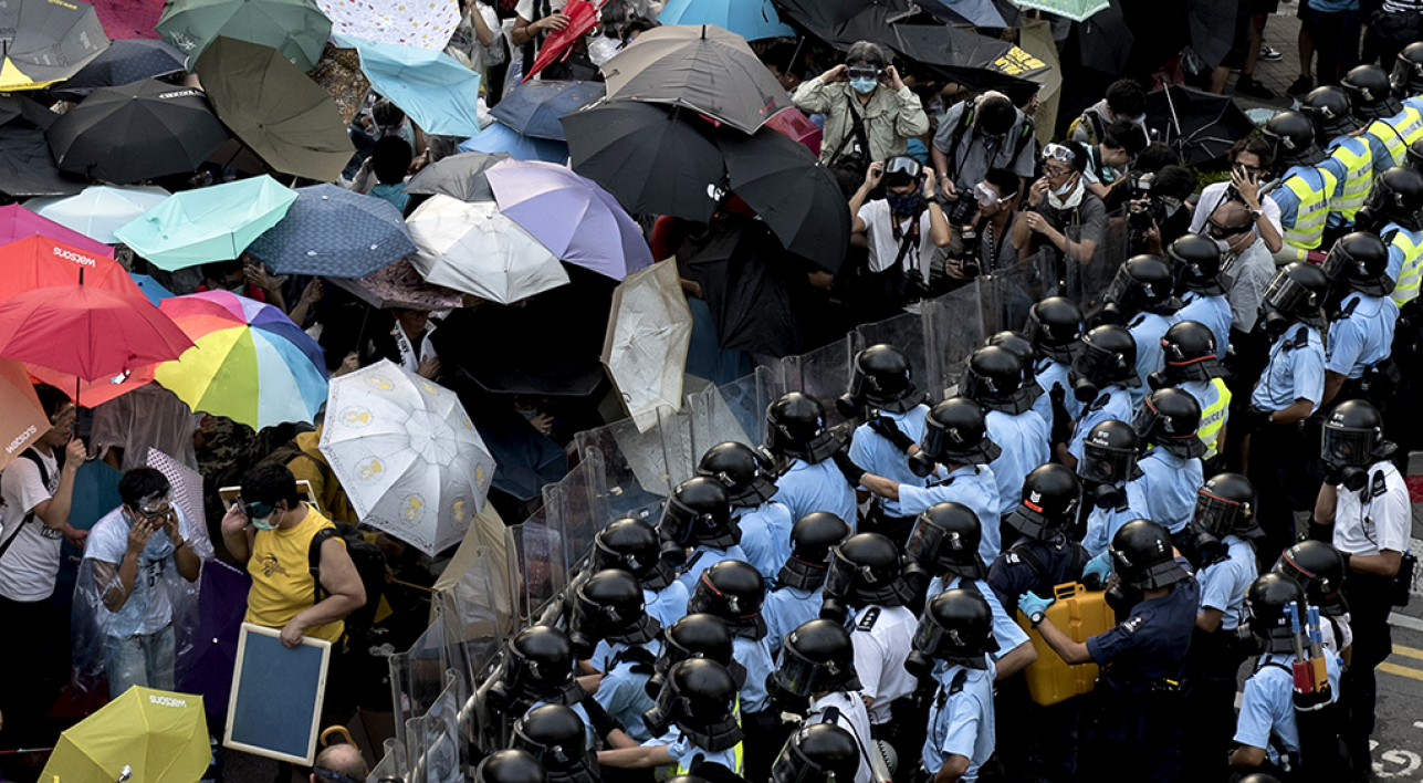 hong kong umbrella revolution movement occupy central