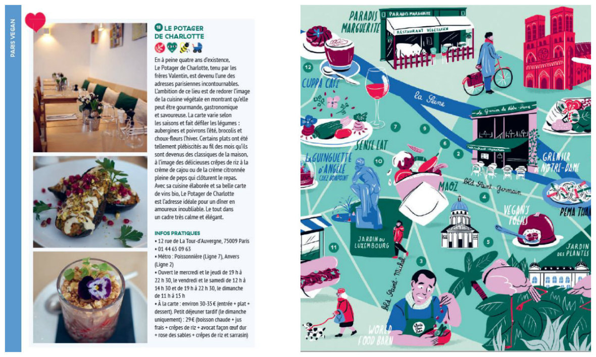 Extrait du Guide du Paris Vegan.