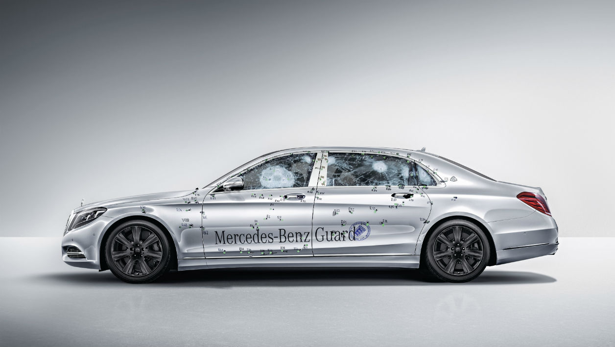 Mercedes Maybach S600 Guard