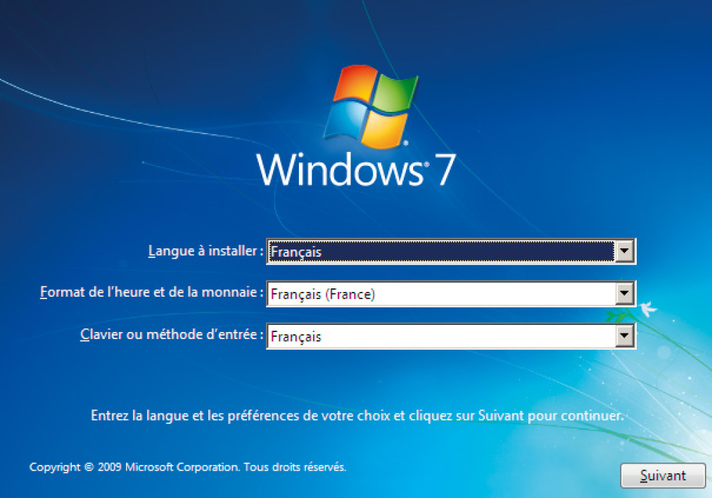 comment réinstaller windows vista à partir de la partition
