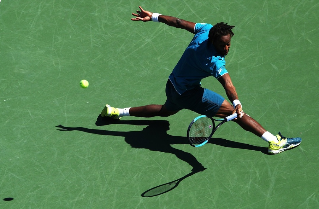 Monfils à Indian Wells