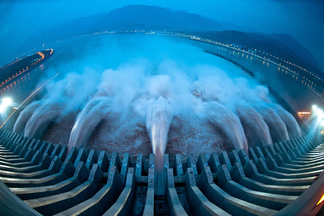 Barrage Trois-Gorges China