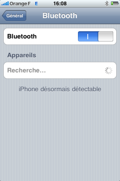 iPhone 0S 3.0 - Bluetooth revisité