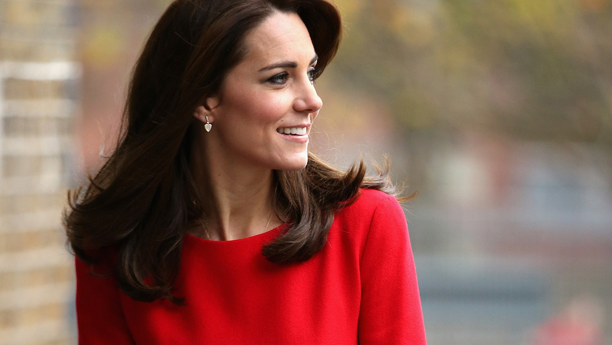 Kate Middleton au Royame-Uni en décembre 2015