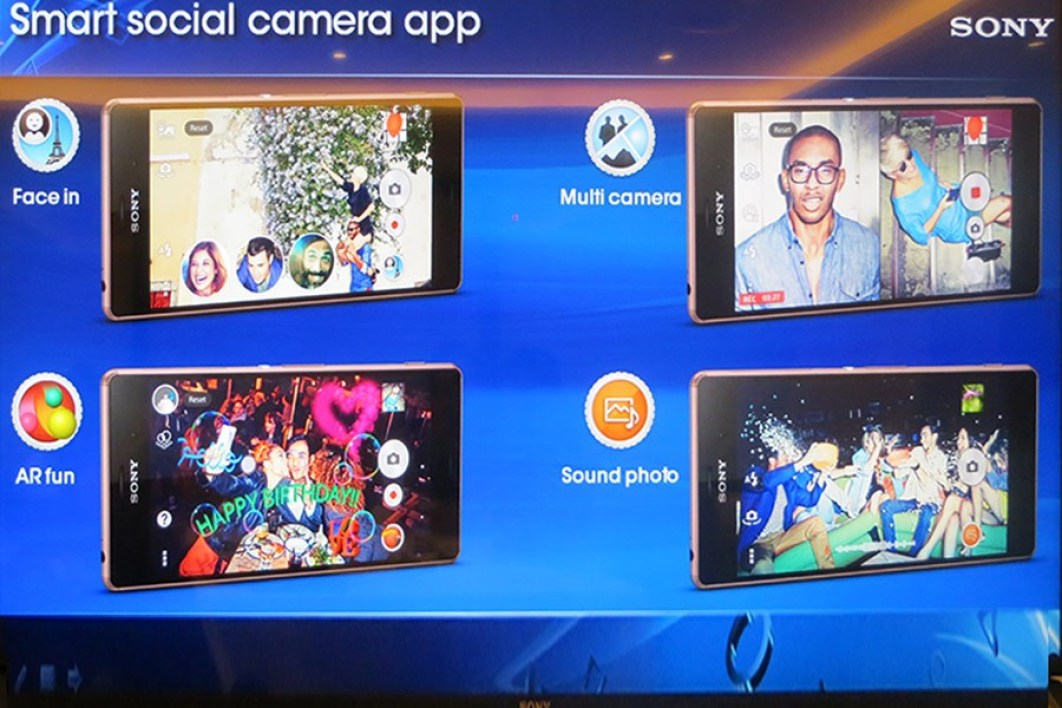 Nouvelles applications Sony
