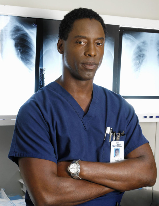 Isaiah Washington, l'interprète du Docteur Burke