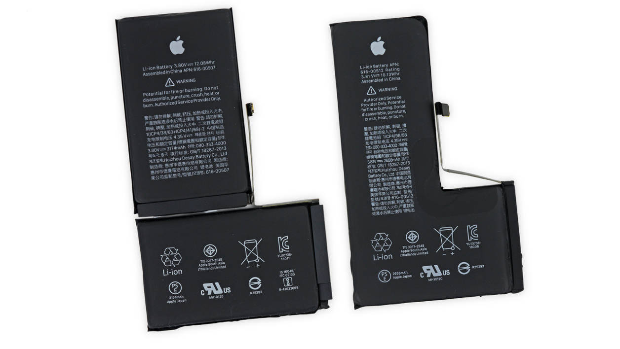 Apple iPhone XS and XS Max power cell
