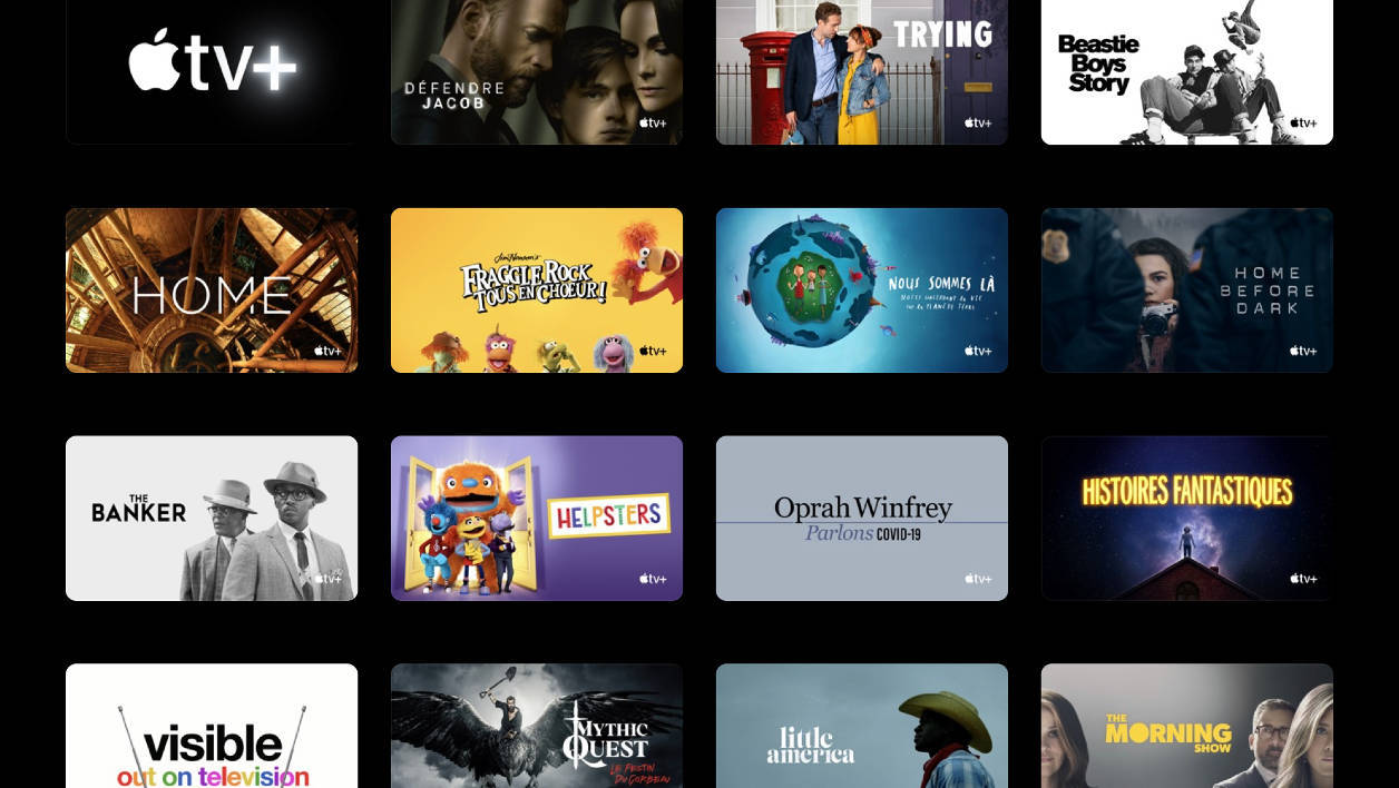 Apple TV+ Mai 2020