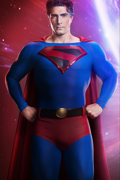 Brandon Routh dans le rôle de Superman.