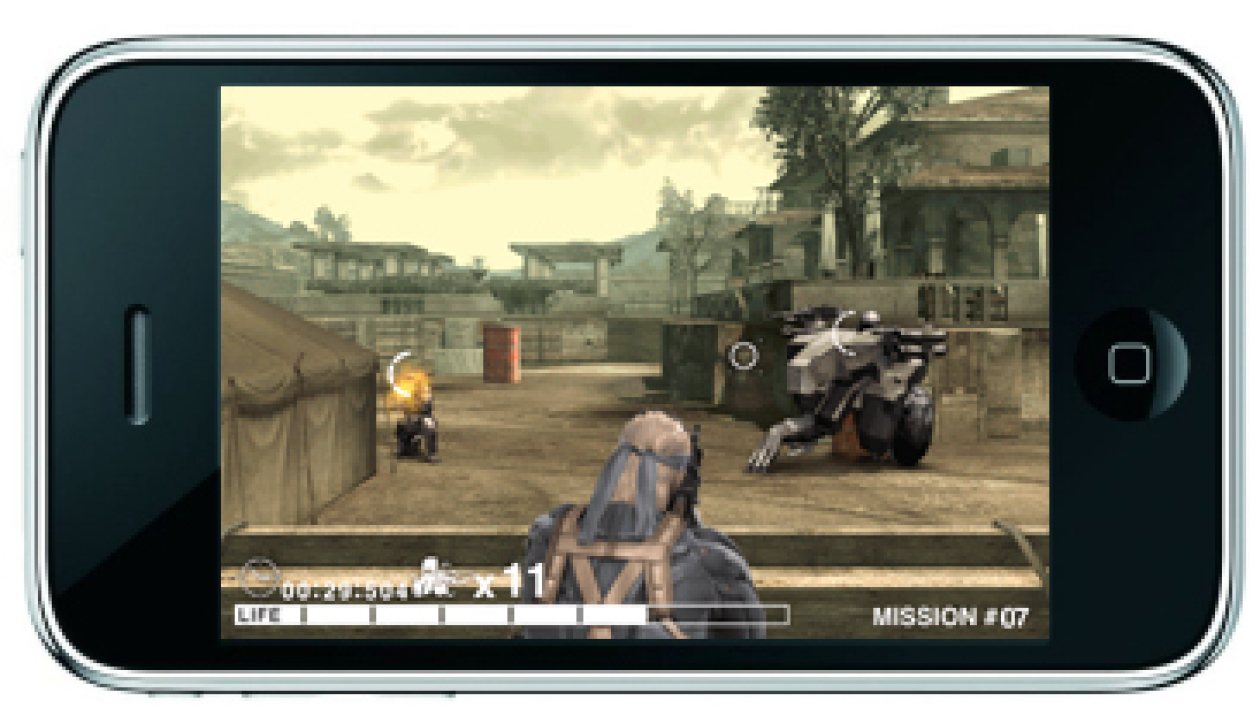 Metal Gear sur iPhone