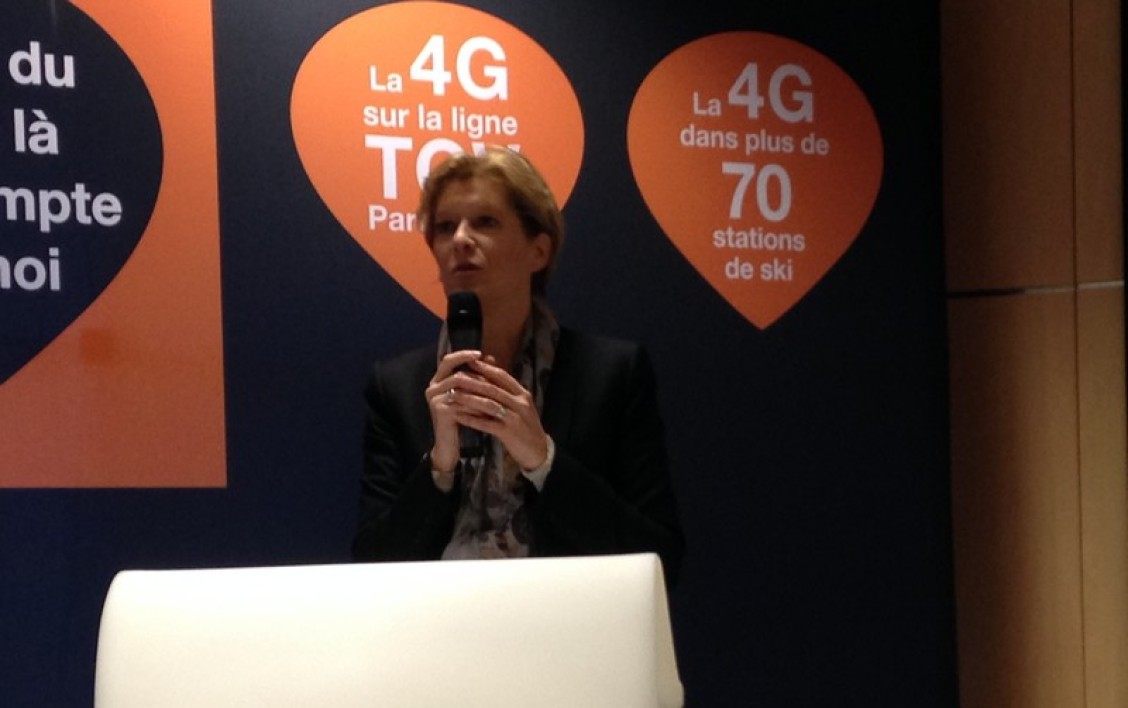 Fabienne Dulac, la directrice exécutive d'Orange France.