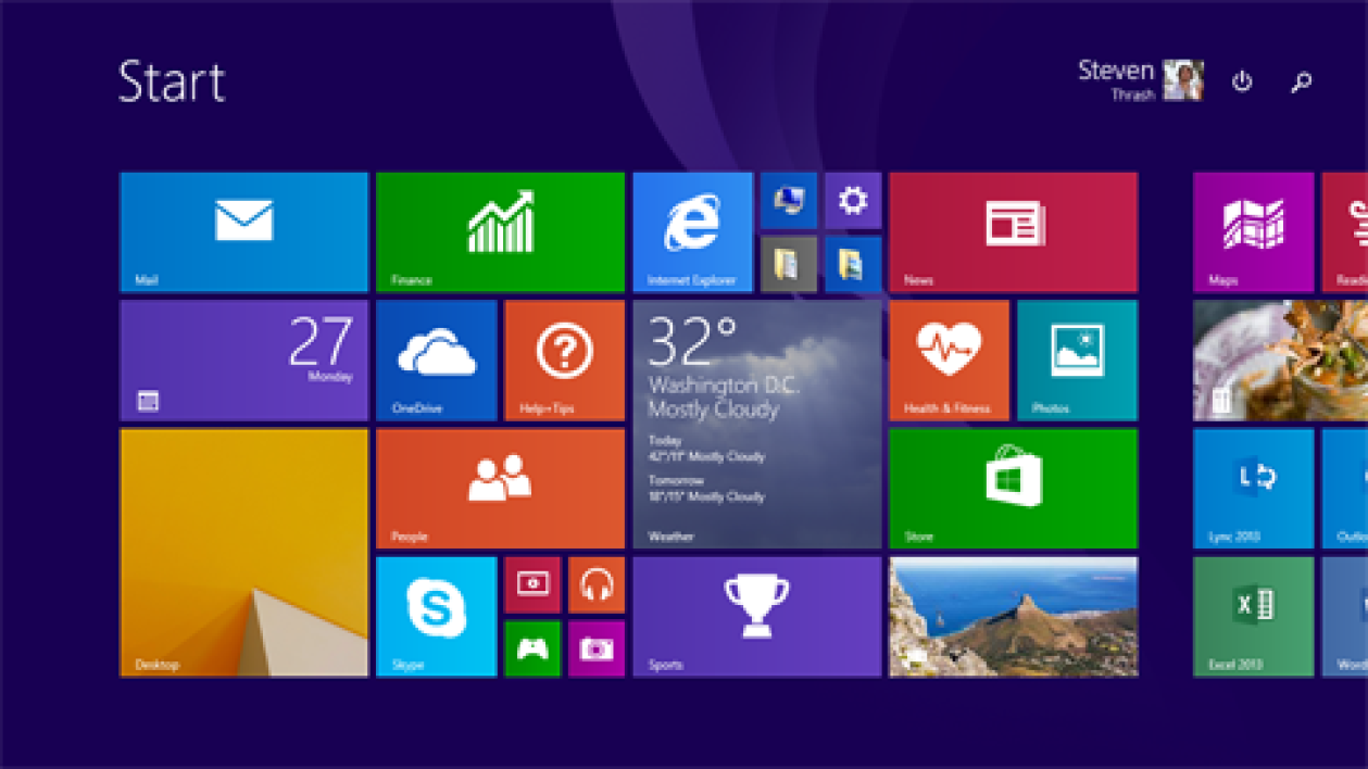 Mise à jour Windows 8.1 (KB2919355)