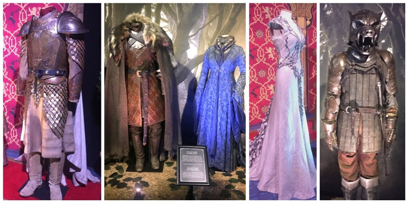 Des costumes de la série Game Of Thrones