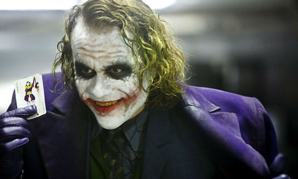 Heath Ledger dans The Dark Knight