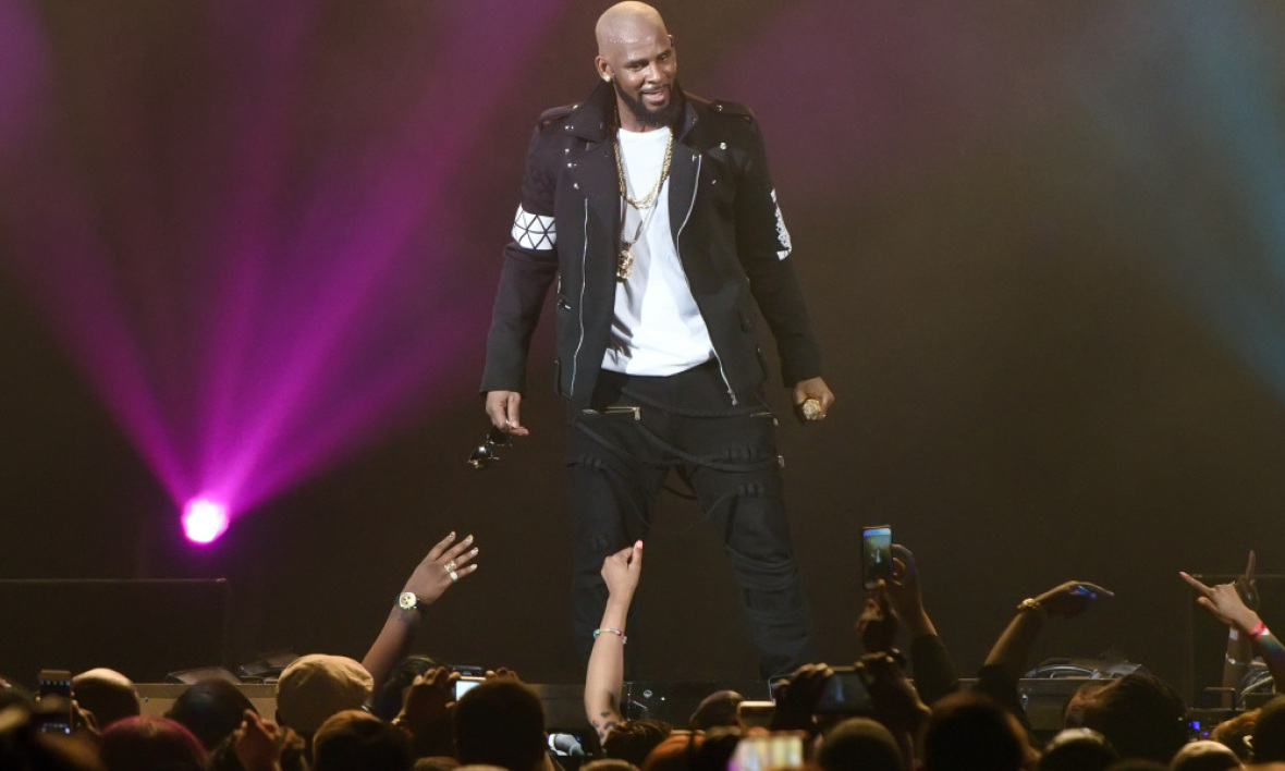 R. Kelly en concert à Chicago en mai 2016