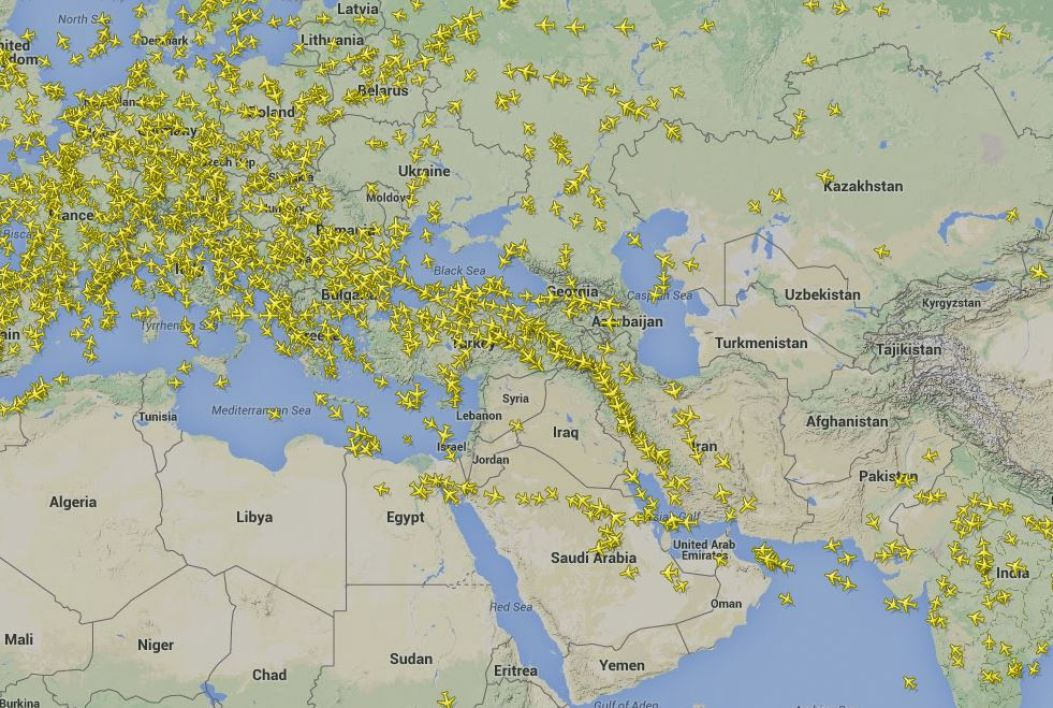 Capture flightradar24.com