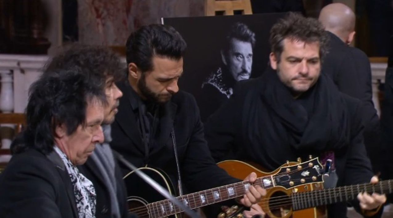 Les musiciens de Johnny Hallyday