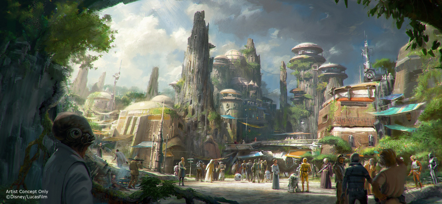 Star Wars DisneyWorld