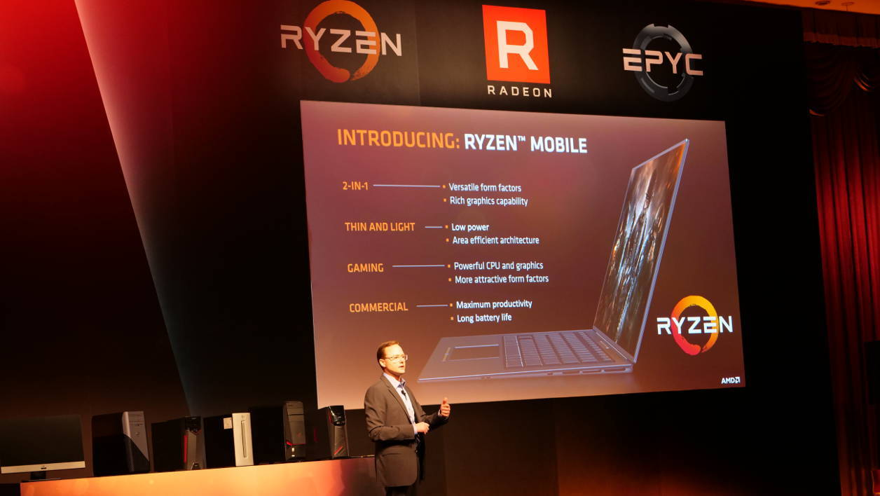 Computex 2017 AMD Ryzen laptop