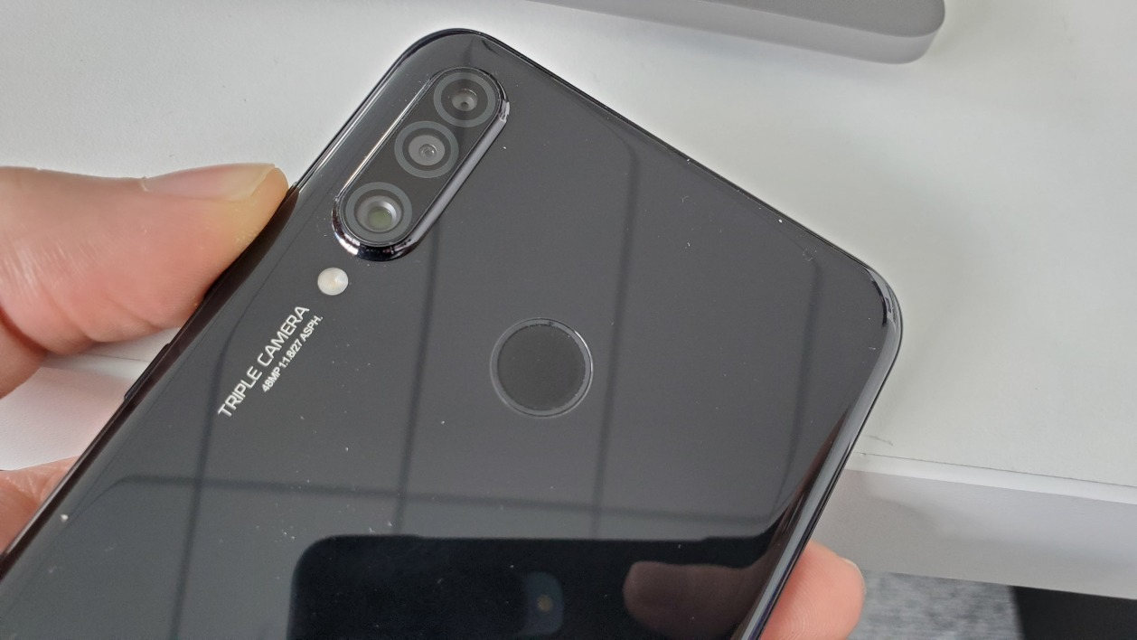 Huawei P30 Lite : le triple module photo.