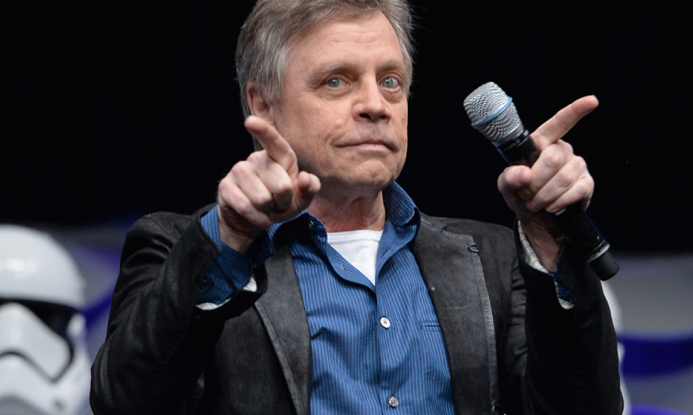 Mark Hamill en avril 2015 à la Convention Star Wars à Anaheim