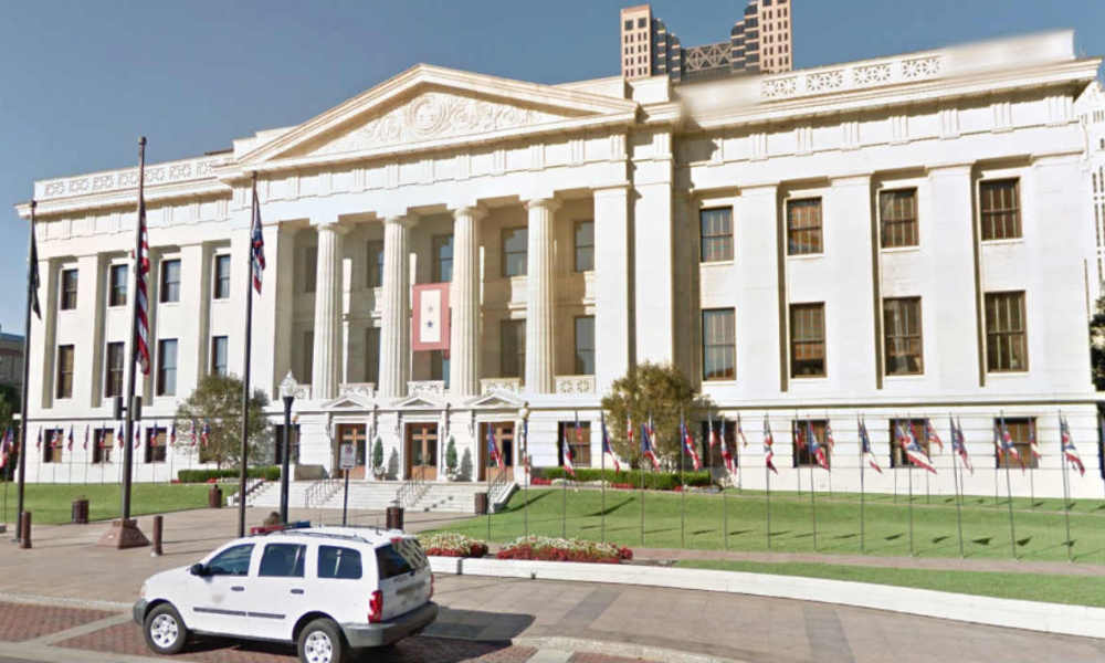"""The House of representatives"", à Colombus dans l'Ohio - Image Google Street View"