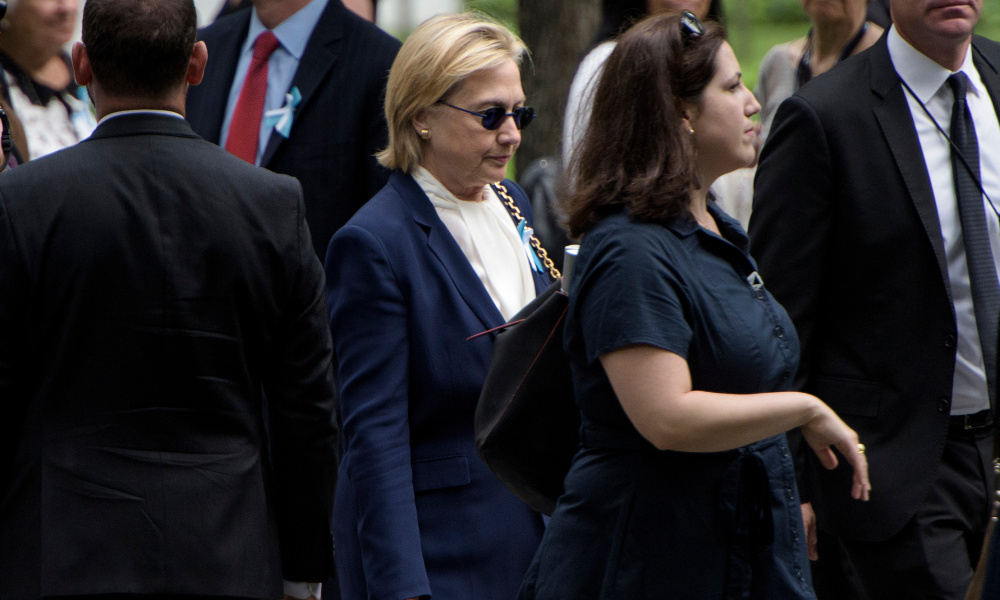 Hillary Clinton le 11 septembre 2016, à New York.