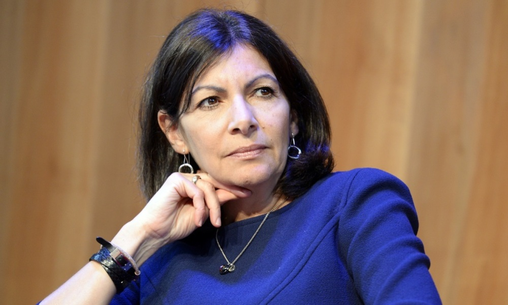 Anne Hidalgo. (illustration)