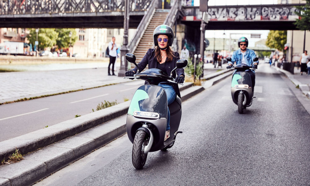 Les scooters Coup -