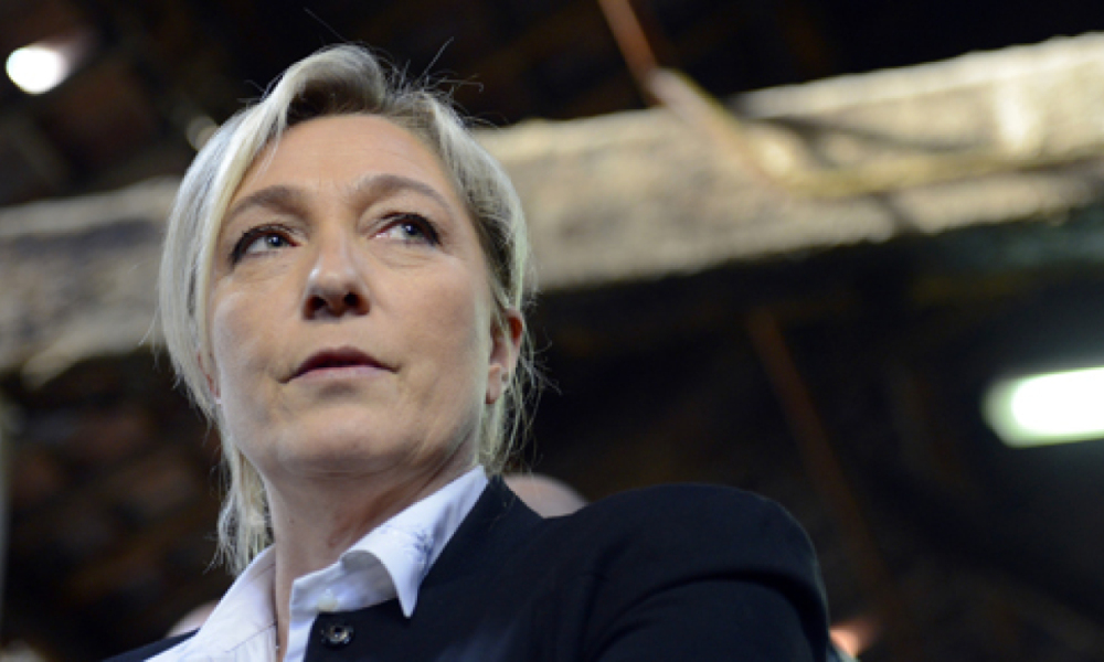 Marine Le Pen, présidente du Front national.