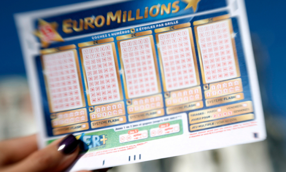 Une grille d'Euromillions - (Photo d'illustration)