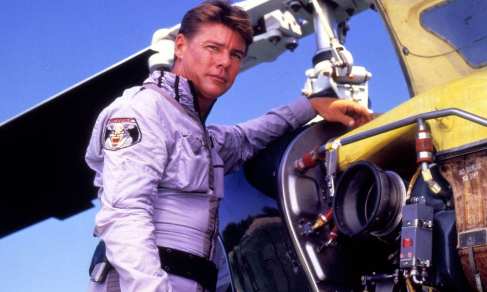 "Jan-Michael Vincent dans ""Supercopter"""
