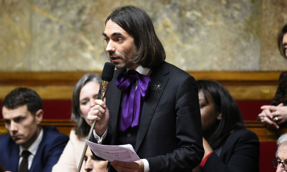 villani French mathematician and La Republique En Marche (LREM) parliament member, Cedric Villani speaks during a session of questions to the government on February 14, 2018 at the French National Assembly in Paris.  Bertrand GUAY / AFP