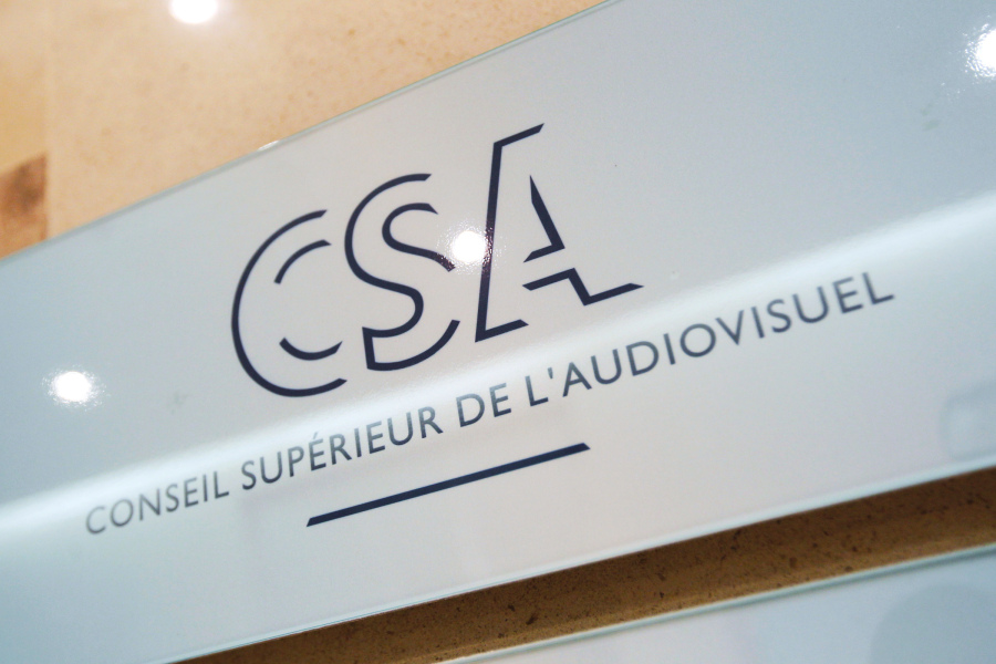 Le logo du CSA. (photo d'illustration)