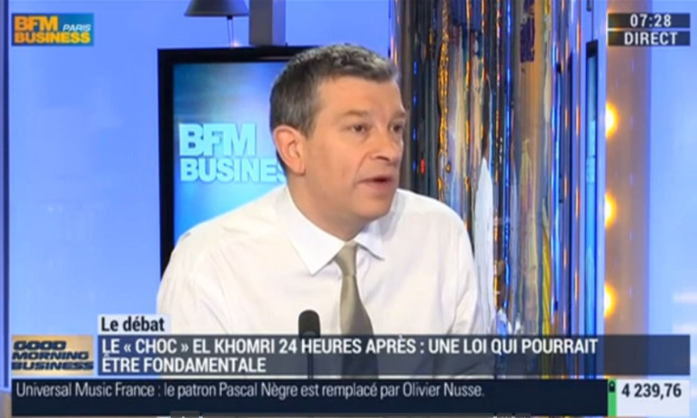 Nicolas Doze sur BFM Business.