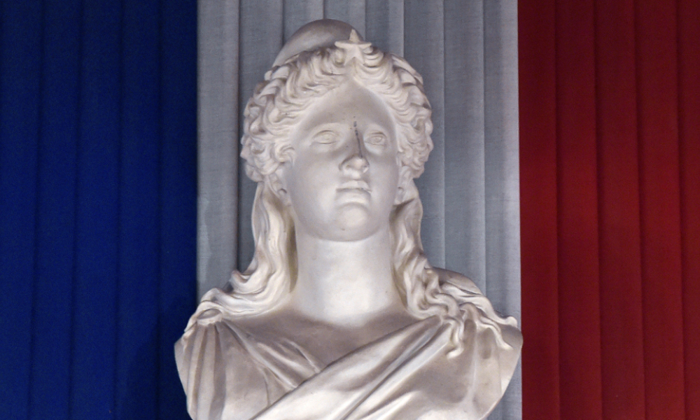 Un sculpture de Marianne, à Toulouse (photo d'illustration)