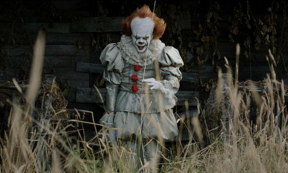 "Le terrifiant clown du film ""Ca"""