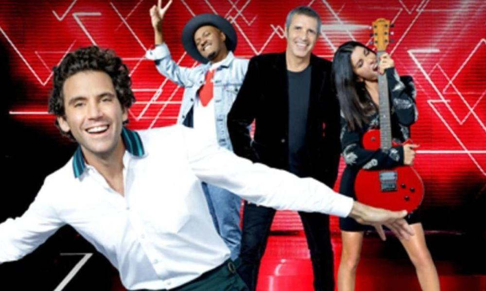 "Les 4 coachs de ""The Voice"""